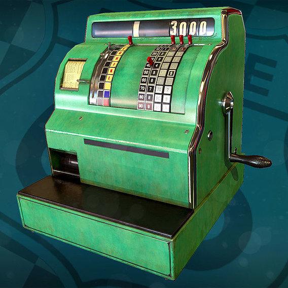 Route 66 bar - cash register