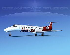 Embraer ERJ-140 Maxair 3D model