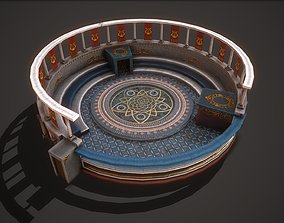 Ancient Theater 02 3D asset