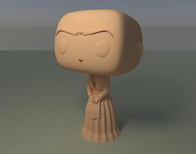 Custom Pop Frida Kahlo DIY Figure 3D Print