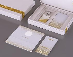 3D asset VIP Invitation Box