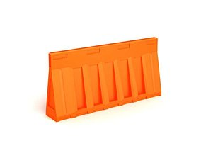 Orange Street Barricade 3D model