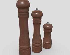 Pepper Mill Pack 3D model