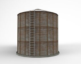 silo silage 3D model