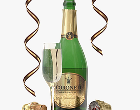 No-name Coroneti Champagne 3D model