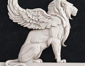 3D printable model Lion wing architecture
