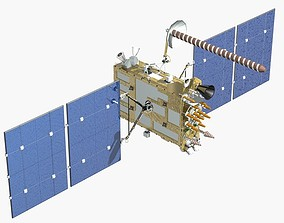 glonass satellite 3D