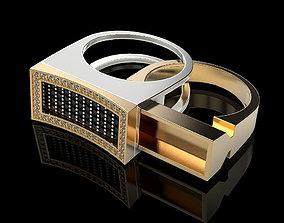 3D printable model Secret Compartment ring v2