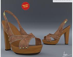 Shoe 8 60193 3D asset game-ready