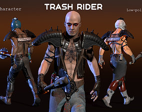 Trash Rider 3D model