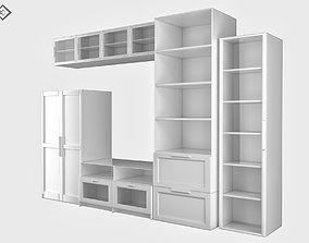 3D model VR / AR ready storage Cabinet