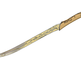 3D printable model Legolas Dagger - Lord of the Rings