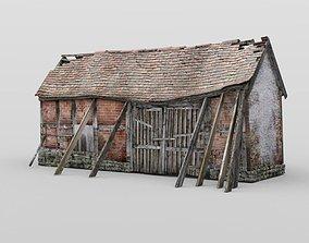 3D model Derelict Barn in fbx format