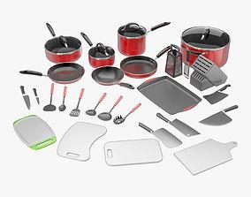 Kitchen Utensil Collection 3D model