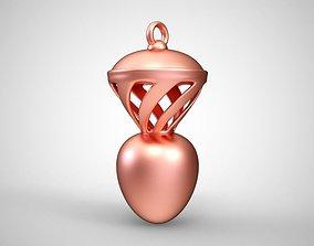 Tornado Necklace 3D print model