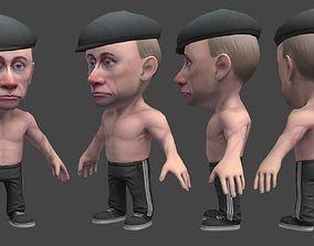 3D asset Chibii politicians - Putin - ver2
