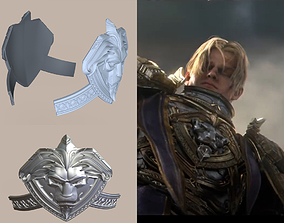 Anduin Wrynn Cosplay Armor element for 3D print model 1