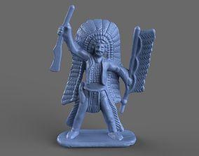 3D Miniature Native American Toy Figurine