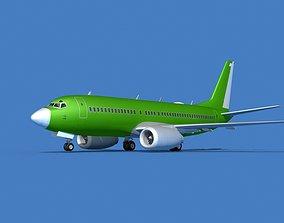 3D model Boeing 737 MAX 7 Bare Metal