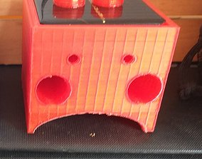 3D print model SOLAR RECHARGEABLE DUMMY -TWIN- LED 1