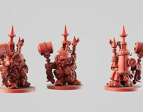 3D printable model Steam dwarf