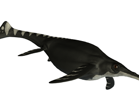 Shonisaurus Asset Pack 3D model