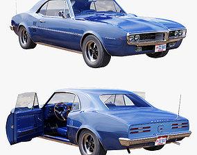 Pontiac firebird 1967 3D