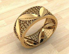 Ring 45 rings 3D printable model
