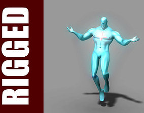 Captain Atom Rig 3D