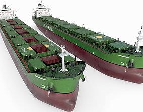 3D Bulk carrier Green hquality