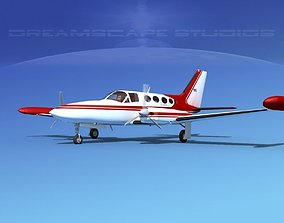 Cessna 414 Chancellor V12 3D