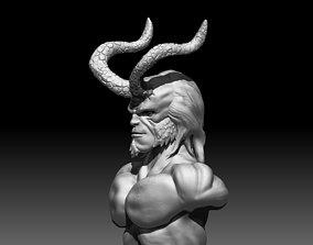 3D print model zbrush Hellboy