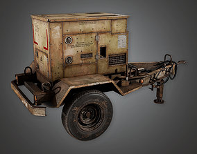 MLT - Military Gas Generator 01- PBR Game Ready 3D model