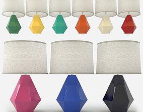 3D Robert Abbey - Delta Table Lamp