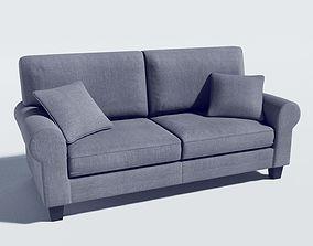 sofa - buxton 73 rolled arm 3D model