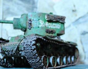 3D print model fi KV 2 Tanks