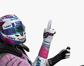 3D asset Sergio Perez 2019