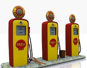 Gas Pump Shell 3D