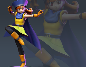 Alena Dragon Quest Fanart 3D print model