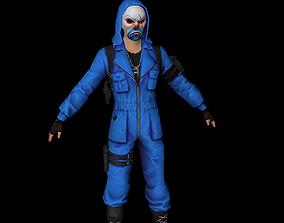 3D model BLUE CRIMINL FREEFIREGARENA