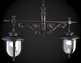 3D model Street Light classicism