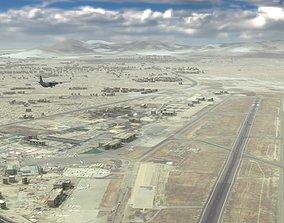 3D model International Airport airbase