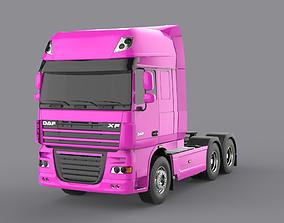 DAF XF 105 Pink 3D