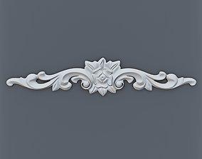 cornice 3D print model Baroque element 003