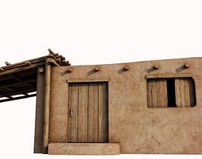 3D asset Small Hut