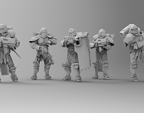 Knights of Roma - Frontline Riflemen 3D printable model 1