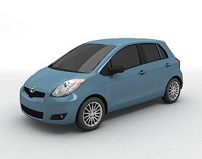 2007 Toyota Yaris Hatchback 3D model
