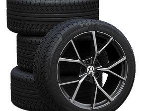 automotive 3D Volkswagen wheels