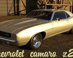 3D model Camaro z-28 classic