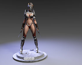3D print model Bellona ready pose
